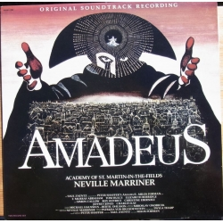 Amadeus. Original Soundtrack Recording. Neville Marriner, Academy of St. Martin in the Fields. 2 LP. Philips