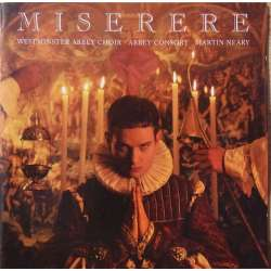 Miserere. Westminster Abbey Choir. Martin Neary. 1 CD. Sony
