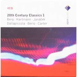 20th Century Music. Vol 1. Pierre Boulez, Heinz Holliger. Berg, Hartmann, Berio, Carter. 4 CD. Warner