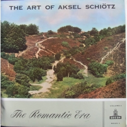 Aksel Schiøtz: The Art of. The Romantic Era. Sange af Schumann, Brahms, Grieg, Niels W. Gade. 1 LP. EMI. Moak 3