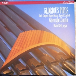 Glorius Pipes. Gheorghe Zamfir, Diana Bish. Værker af Bach, Couperin, Handel, Mozart, Purcell, Schubert. 1 LP. Philips