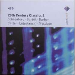 20th Century Classics, Vol. 2. Lutoslawski, Schoenberg, Fine, Carter, Messiaen. 4 cd Warner
