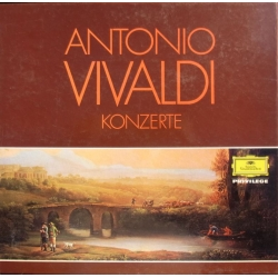 Vivaldi: Koncerter. For violin, cello, cembalo, lut, guitar, fløjte, trompeter. 2 LP. DG. 2705002