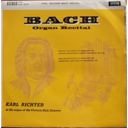 Bach: Toccata and Fugue in D-minor. BWV 565. Karl Richter. 1 LP. Decca. SXL 2219