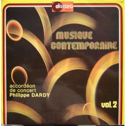 Musique Contempary. Accordeon de concert Phillippe Dardy. 1 LP