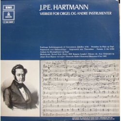 JPE. Hartmann: Works for organ and other instruments. 1 LP. EMI