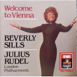 Welcome to Vienna. Berverly Sills, Julius Rudel. Arias by, Lehar, Strauss, Korngold, Heuberger. 1 CD. EMI