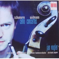 Schumann & Widmann: Cello Concertos. Jan Vogler. 1 CD. Berlin Classics