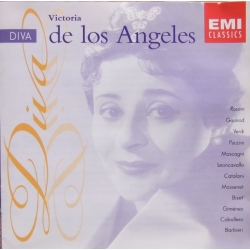 Victoria de los Angeles: Diva. 1 CD. EMI