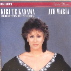 Ave Maria. Kiri te Kanawa. Choir of St. Pauls Cathedral. 1 CD. Philips