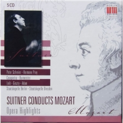 Suitner conducts Mozart. Cosi fan Tutte. + overtures + arias. 5 CD. Berlin Classics