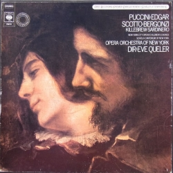 Puccini: Edgar. Scotto, Bergonzi. Eve Queller. 2 LP CBS