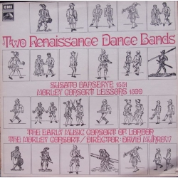 Two Renaissance Dance bands. David Munrow. 1 LP. EMI. HQS 1249