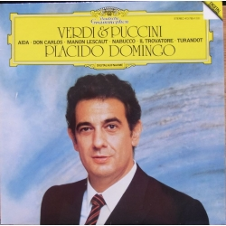 Placido Domingo. Verdi & Puccini. 1 LP. DG. 4137851