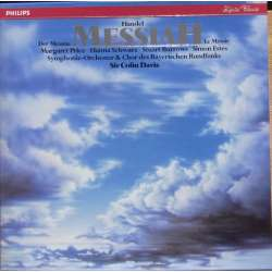 Handel: Messiah. Colin Davis. Price, Schwarz, Burrows, Estes. 3 LP. Philips