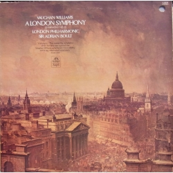 Vaughan Williams: Symfoni nr. 2. Sir Adrian Boult, London Philharmonic Orchestra. 1 LP. EMI