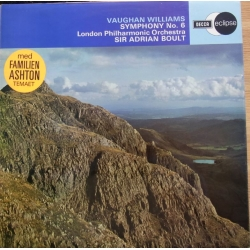 Vaughan Williams: Symfoni nr. 6. Adrian Boult, London PO. 1 LP. Decca