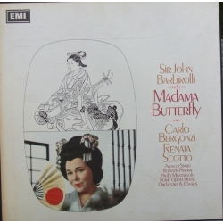 Puccini: Madama Butterfly. Barbiroli. Scotto, Bergonzi. 3 LP. EMI. SLS 927
