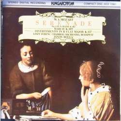 Mozart: Serenade K185 + K137. Franz Liszt CO. James Rolla. 1 CD. Hungaroton