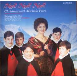 Christmas with Michala Petri. Westminister Abbey Choir, National Philharmonic Orchestra, Martin Neary. 1 LP. RCA
