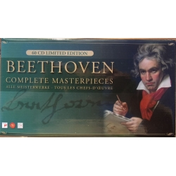Beethoven: Complete Masterpieces. 60 CD. Sony