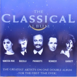 The Classical album. Pavarotti, Mae, Bocelli, Kennedy, Garrett. 2 CD. EMI