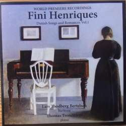 Fini Henriques. Danish songs and romances. Vol. 1. 1 CD. CDK 1157