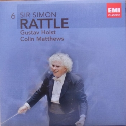 Holst: The Planets & Matthews: Pluto, The Renewer. Simon Rattle, Berliner PO. 1 CD. EMI