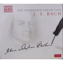 Bach: The Autograph Collection 3 CD. Naxos