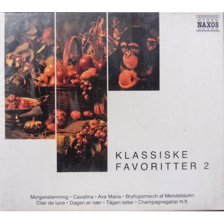 Klassiske favoritter vol. 2. 3 CD. Naxos