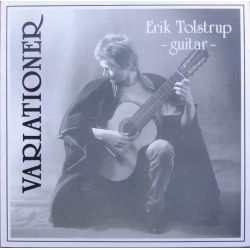 Erik Tolstrup (guitar). Variationer. 1 CD. Barbarossa 1391