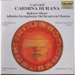 Orff: Carmina Burana. Robert Shaw, Atlanta SO & Chorus. 1 CD. Telarc