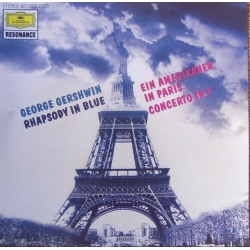 Gershwin: Rhapsody in blue, An a American in Paris, Concerto in F. Seiji Ozawa. 1 CD. DG