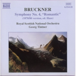 Bruckner: Symphony no. 4. Georg Tintner, Royal Scottish National Orchestra. 1 CD. Naxos