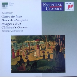 Debussy: Claire de Lune, Childrens Corner. Philippe Entremont. 1 CD. Sony
