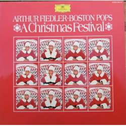 Arthur Fiedler, Boston Pops. A Christmas Festival. 1 LP. DG