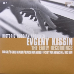 Rachmaninov: Etudes-tableaux for Piano, Op. 39 & Schumann: Arabesque, Evgeny Kissin. 1 CD. Russian Archives