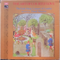 The Art of Courtly love. David Munrow. 3 LP. EMI. SLS 863