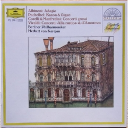 Albinoni: Adagio & Pachelbel: Canon and Gigue. Karajan, Berlin PO. 1 CD. DG
