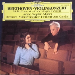 Beethoven: Violinkoncert. Mutter, BPO. Karajan. 1 CD. DG