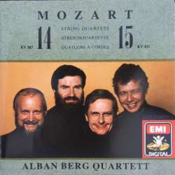 Mozart: String Quartet nos. 14 & 15 Alban Berg Quartet. 1 CD EMI.
