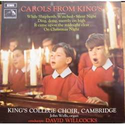 Carols from Kings. David Willcocks. 1 LP. EMI