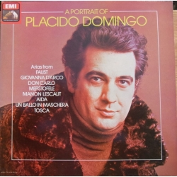 Placido Domingo: A Portrait of. Opera Arias. 1 LP. EMI. ASD 4031