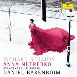 Strauss: Four last songs. Anna Netrebko, Daniel Barenboim. 1 CD. DG