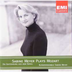 Mozart: Harmonie music from Abduction from the seraglio. Sabine Meyer. 1 CD. EMI