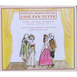 Mozart: Cosi fan tutte. K588. Bertrand de Billy. 3 CD. Arte Nova