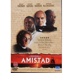 Amistad. Morgan Freeman, Anthony Hopkins, Matthew McConaughey. 1 DVD