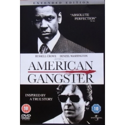American Gangster. Russell Crowe - Denzel Washington. 1 DVD.