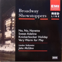 Broadway Showstoppers. London Sinfonietta, John McGlinn. 1 CD. EMI. Red line