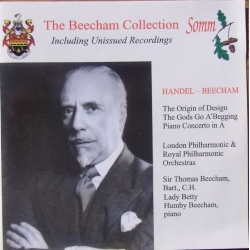 Handel and Beecham. Including Uninsued Recordings. 1 CD.